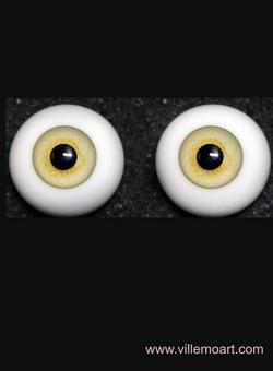 oczy szklane - 15mm - D4 LG