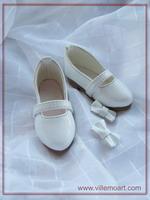 Buty 1/4 - 1708M - białe