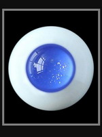 oczy szklane - 16 mm - EY16054