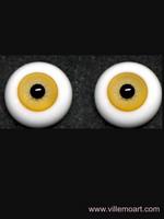 oczy szklane - 16mm - sun 03 LG