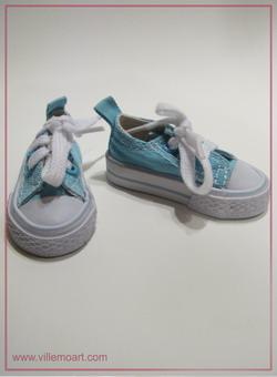 Buty can13-001 - niebieskie