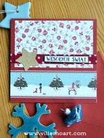 Kartka świąteczna - D009