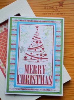 Kartka świąteczna - D001 ENG