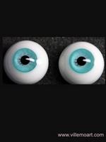 oczy szklane - 16mm - sun 15 LG