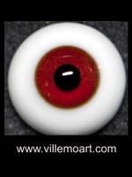 oczy szklane - 16 mm - Glitter 01