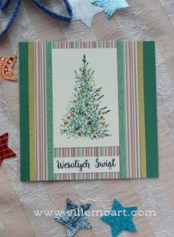 Kartka świąteczna - D014
