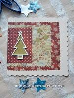 Kartka świąteczna - D024