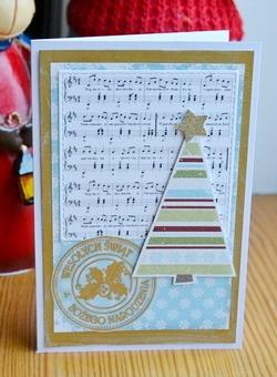 Kartka świąteczna - D044