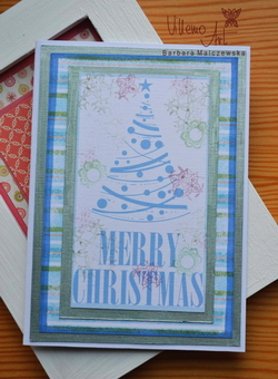 Kartka świąteczna - D003 ENG