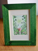 GREEN MAGIC - print in frame