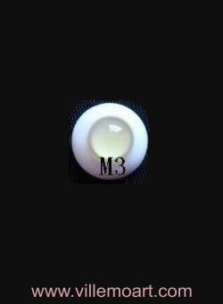 oczy szklane - 18 mm - M3