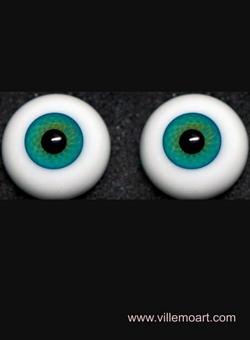 oczy szklane - 16 mm - D10 LG