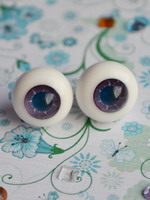 Glass eyes - 14mm - AS04