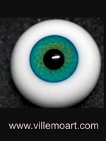 glass eyes - 18 mm - D10 LG