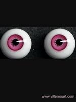 oczy szklane - 16mm - sun 05 LG