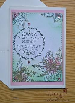 Kartka świąteczna - D017