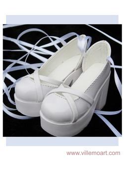 Buty ID - 1/3 NS 9016 białe
