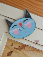 Magnet - Blue Kitty