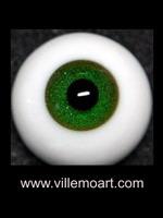 oczy szklane - 18 mm - Glitter 02