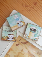 Coffe Magnets - set of 3