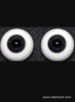 oczy szklane - 18 mm - Glitter 03