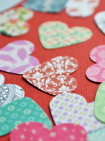 HEARTS - 25 - scrapbooking - ColorMix