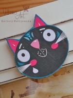 Magnet - Black Kitty